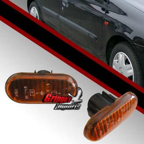 Pisca Paralama Clio Master Scenic Ambar
