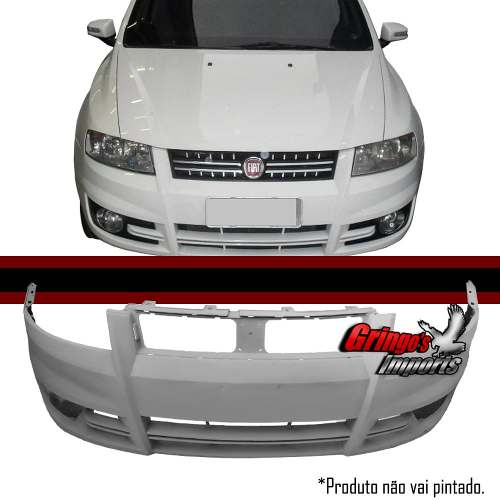 Parachoque Dianteiro Stilo 2008 A 2012