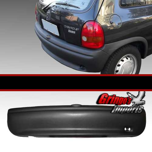 Parachoque Traseiro Corsa Texturizado 1994 A 2002