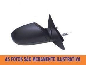 Retrovisor Ford Ka 08 A 11 Manual Esquerdo + Brinde