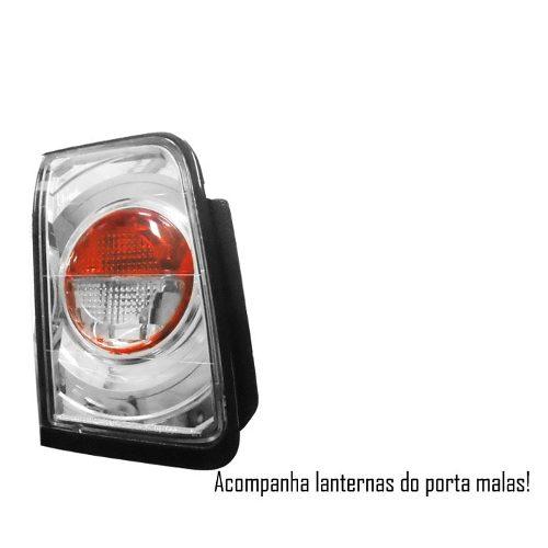 Par Lanternas Traseiras Accord 96 97 Altezza Tuning + Brinde