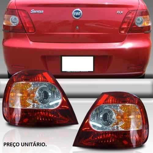 Lanterna Traseira Siena 04 05 06 07 08 Canto