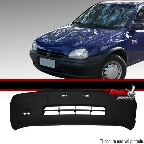 Parachoque Dianteiro Corsa 1996 A 1999 Preto Liso