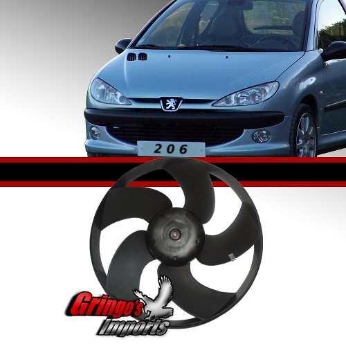 Ventoinha Radiador Peugeot 206 Sem Ar +brinde