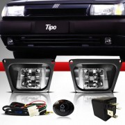 Kit Farol Milha Fiat Tipo 93 94 95 96 97 + L�mpada Brinde + Brinde