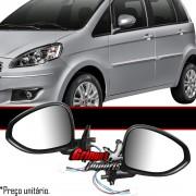 Retrovisor Fiat Idea 2011 2012 2013 2014 El�trico Com Pisca