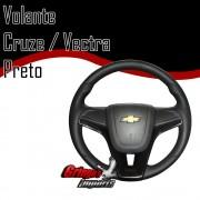 Volante Vectra Modelo Cruze Preto