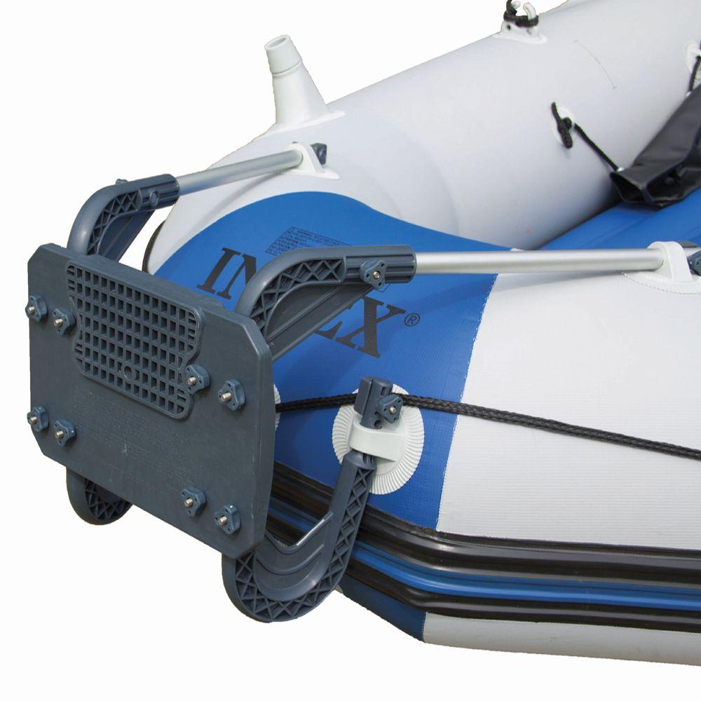 Suporte Para Motor Bote Barco Aluminio Até 3hp Intex Seahawk