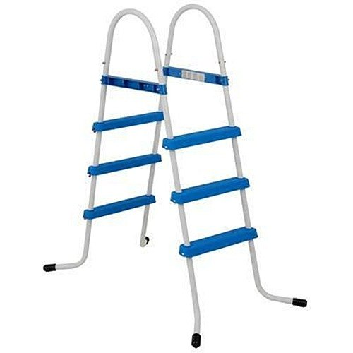 Escada Dupla Intex 3 Degraus 107 Para  Piscina Inflável Estrutural