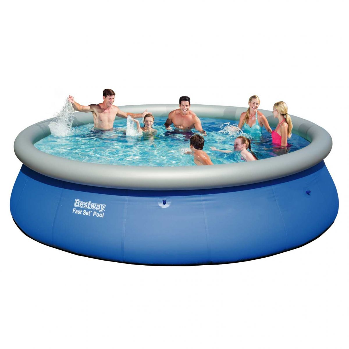 piscina infl vel bestway fast set litros virtual