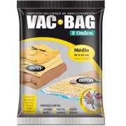 Saco A Vácuo Protetor e Organizador - VAC BAG 45 X 65 - Médio