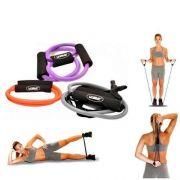 Kit Com 3 Elásticos Extensores Ginástica Fitness Liveup 3211