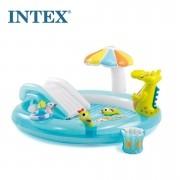 Piscina Inflável Playground 180 Litros Jacaré - Intex
