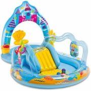 Piscina Playground Reino da Sereia Encantada 151 Litros Intex