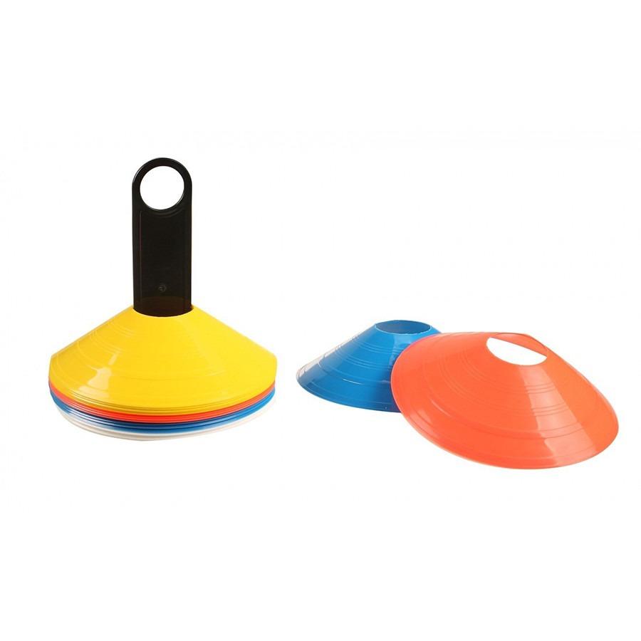 Kit 20 Mini Cones De Agilidade Cones Treinamento Funcional