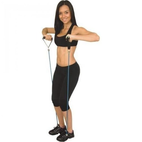 Extensor Elástico Fitness Multi Função - Liveup Tensão Forte