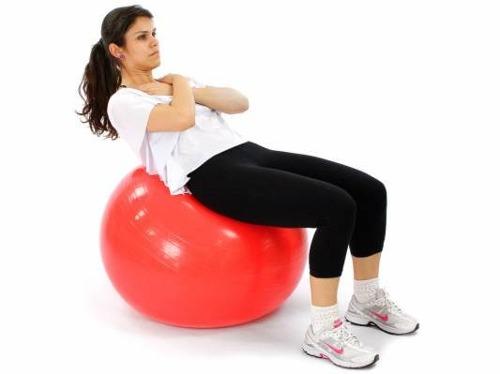 Bola Suiça 45cm - Yoga Pilates Ginástica Exercícios Liveup