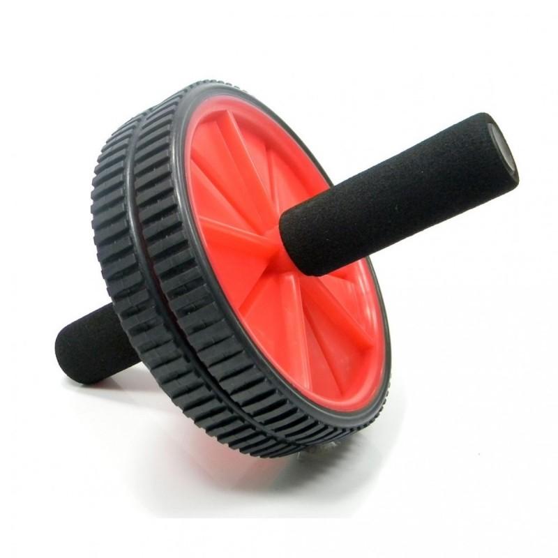 Roda de Exercícios Plus Vermelha - Liveup
