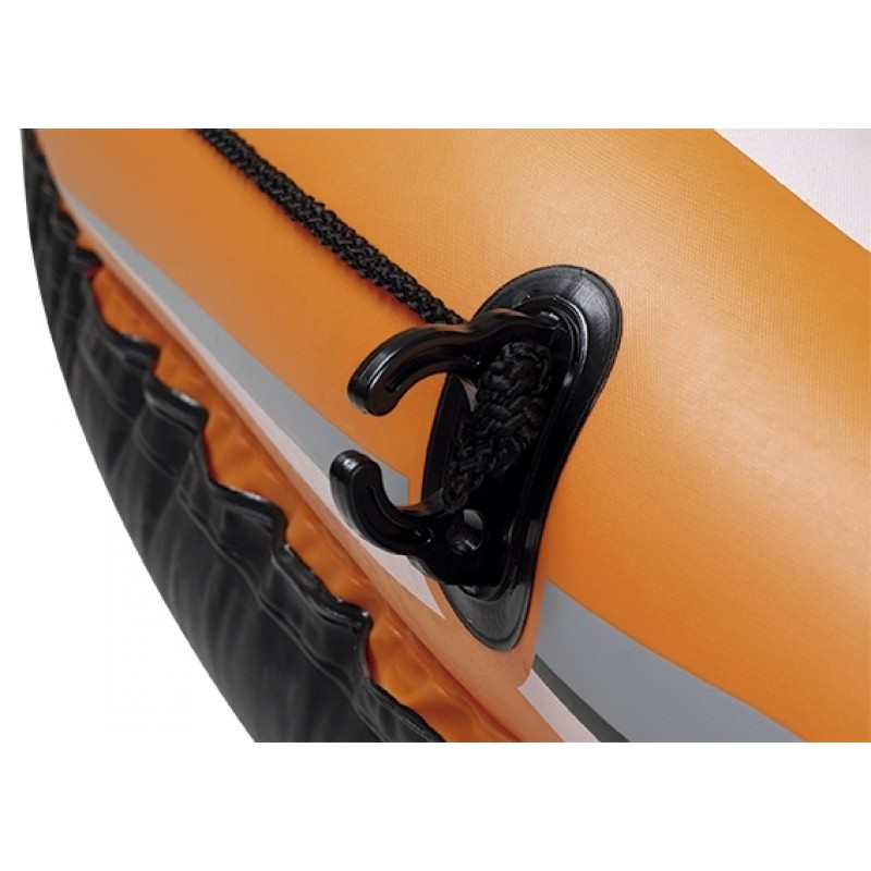 Caiaque Bote Inflável Pathfinder Remo + Bomba Infladora Mor
