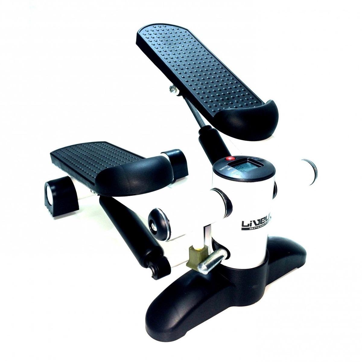 Simulador De Caminhada Ginástica Mini Stepper Lcd - Live Up