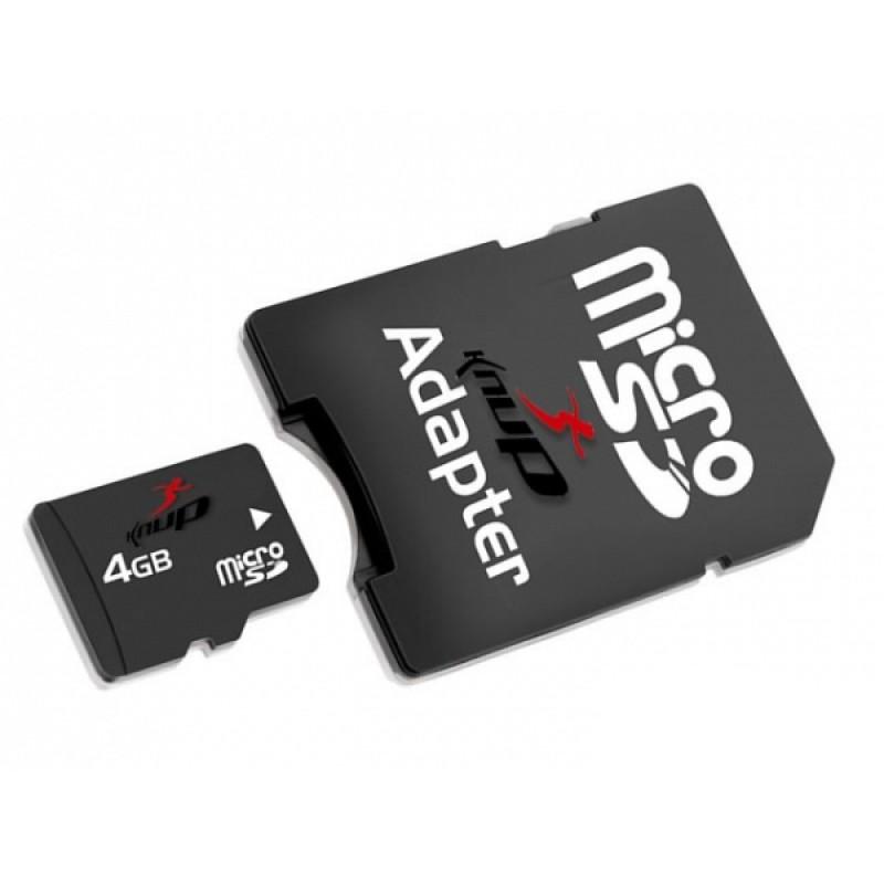 Cartão de Memória Micro SD 4GB - Knup