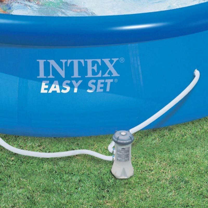 Piscina Easy Set 10.681 Litros + Bomba Filtrante - Intex