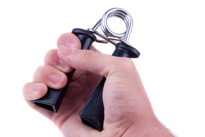 Par De Hand Grip Fortalecedor De Punhos Pulsos - Acte Sports