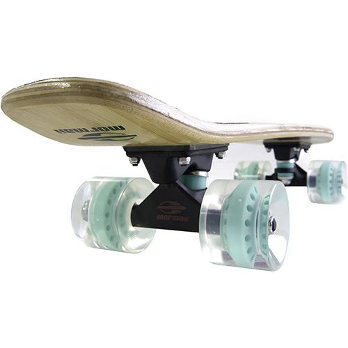 Skate Pro Mini Longboard Retrô Abec 7 Cruiser Bambu Mormaii
