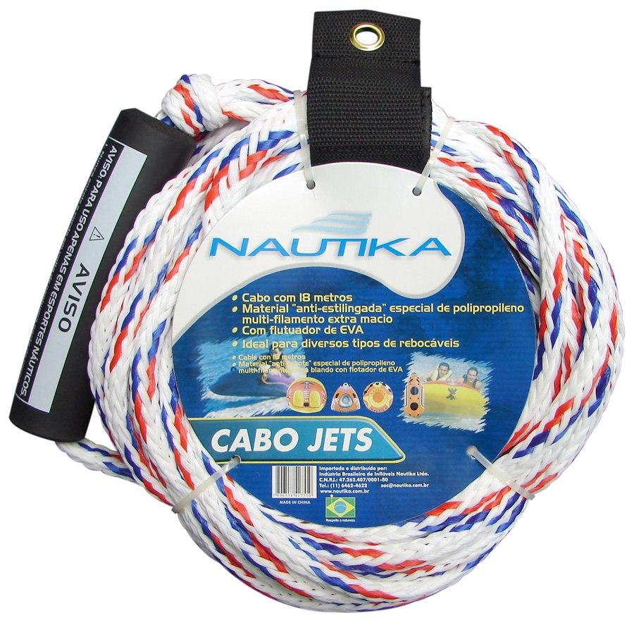 Corda Para Boia Rebocável Cabo Jet Esporte 18 Metros Nautika