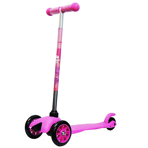 Patinete Infantil Bel Sport Twist 3 Rodas Rosa - Bel Sports