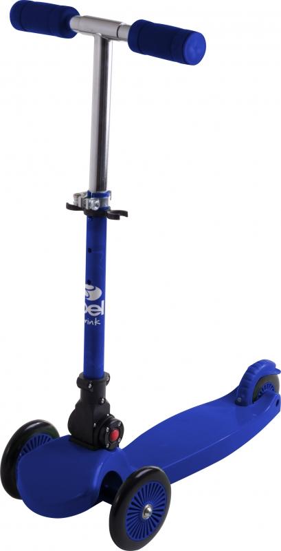 Patinete Sport Tech Infantil 3 Rodas Azul - Belfix