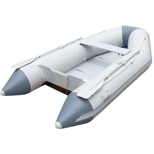 Bote Inflável Caspian  480kg Com Remos Barco Até 10hp Bestway