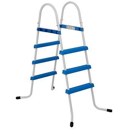 Escada Dupla Piscina Inflável Estrutural 91 Cm Bestway Intex