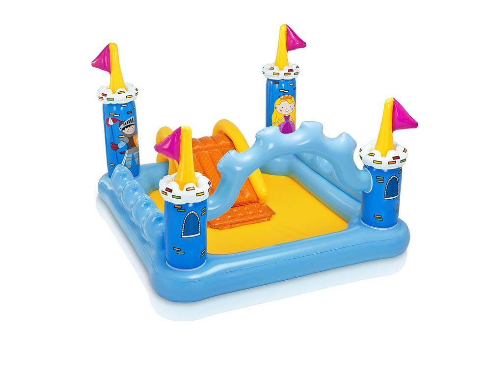 Piscina Playground Inflável Castelo Da Fantasia 178 Litros - Intex