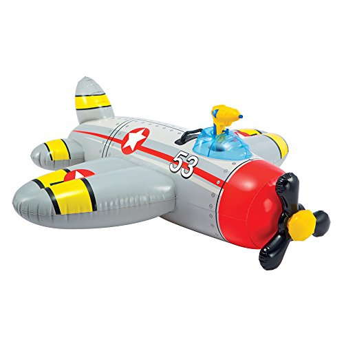 Bote Inflável Infantil Avião Com Pistola De Água - Intex