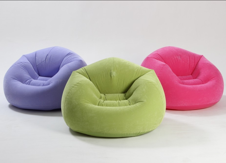 Poltrona Inflável Loung Puff Beanless - Intex