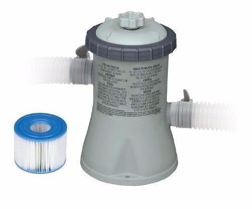 Refil Filtro P/ Bomba Filtrante 1250 Lh Modelo H 3 Unidades- Intex