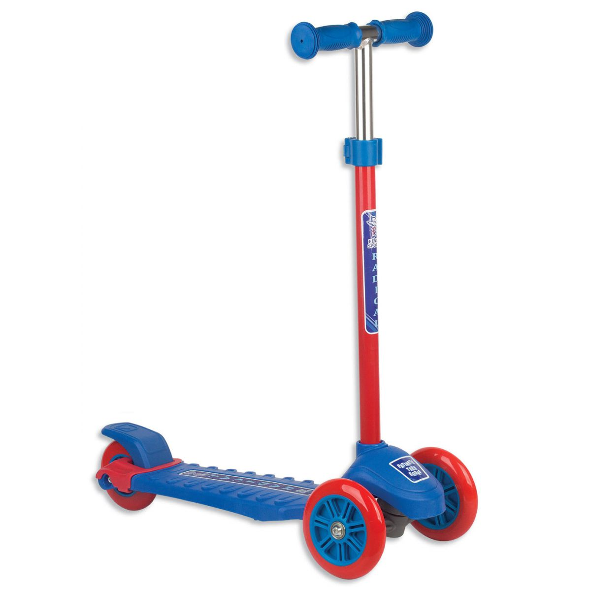 Patinete tres rodas até 70 kg Masculino - Fenix
