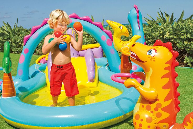 Piscina Playcenter Infantil Floresta 216 Litros Intex