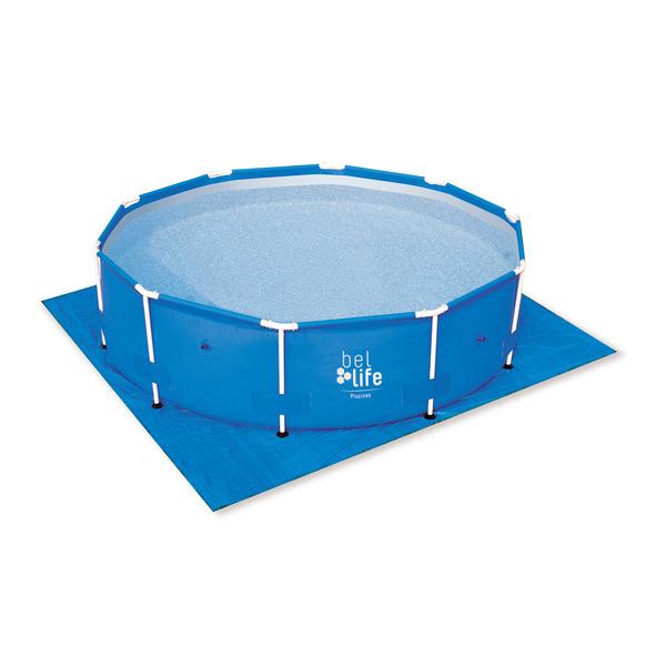 Kit piscina infl vel belfix litros filtro capa forro for Piscina inflavel 8 mil litros