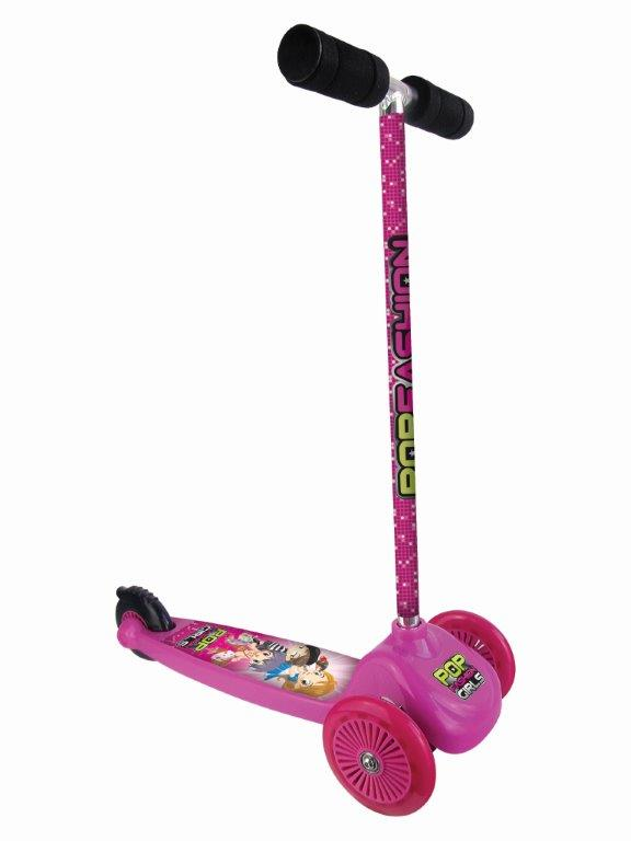 Patinete Três Rodas Infantil Radical até 50kg - Fenix