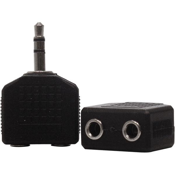Adaptador Duplicador P2 Stereo P / 2 J2 Stereo