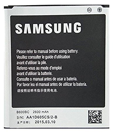 Bateria Samsung Original P / S4 I9500 2600mah B600bc.