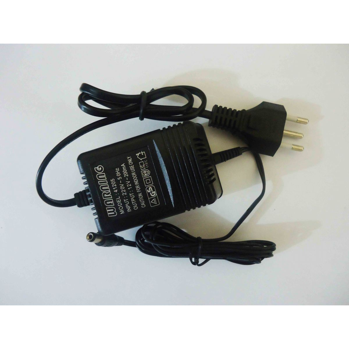 Fonte p / Microfone Warning 41205 220V 12v 200mA