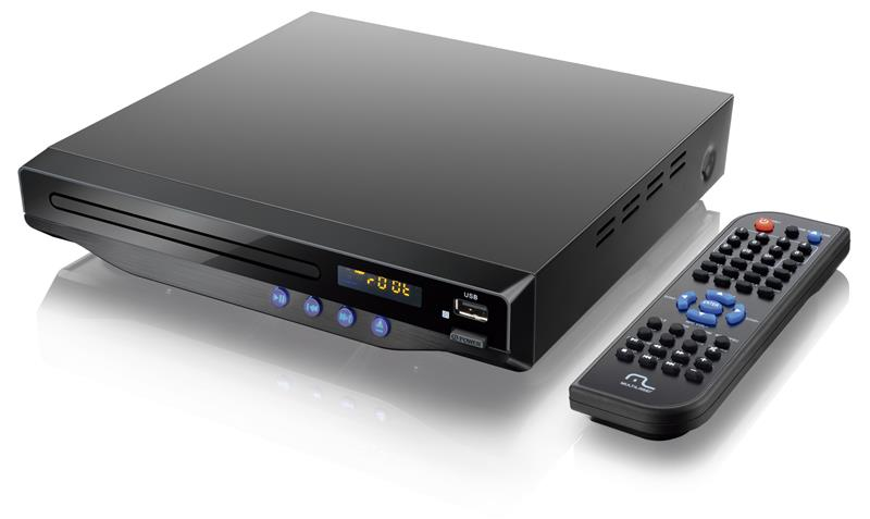 Dvd Player Com Saida Hdmi 5.1 Canais Função Karaoke Entrada Usb - Sp193