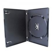 Estojo Capa Box Preto P/ Dvd/Cd Amaray 100 Unidades