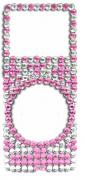 Adesivo Brilho com strass p/ iPod Nano 2 gera��o Pink 3499
