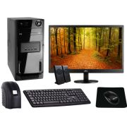 Computador Completo Intel Core I3 6100 3.7GHZ 8GB DDR4 2133MHZ  HD 1000GB DVD Monitor 21,5 Polegadas