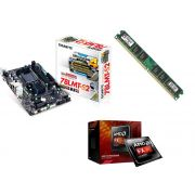 Kit Placa Mãe Gigabyte Ga-78lmt-s2 + Processador AMD FX 4300 Quad Core + 4GB Ram Kingston