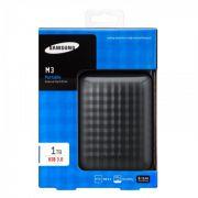 HD Externo 2.5� 1TB USB 3.0 Samsung M3 Port�til - (HX-M101TCB/G)